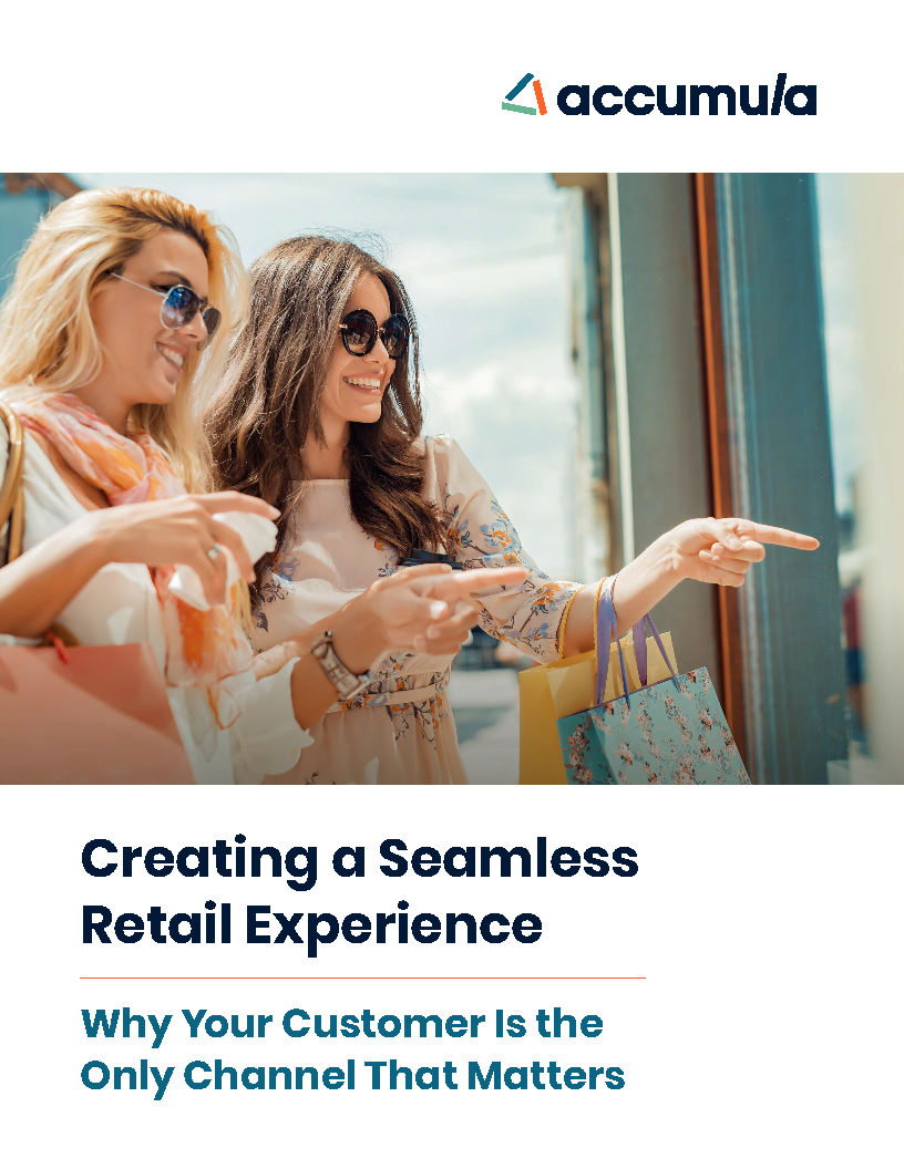 Creating a Seamless Retail Experience - Why Your Customer Is the Only Channel That Matters EB Cover